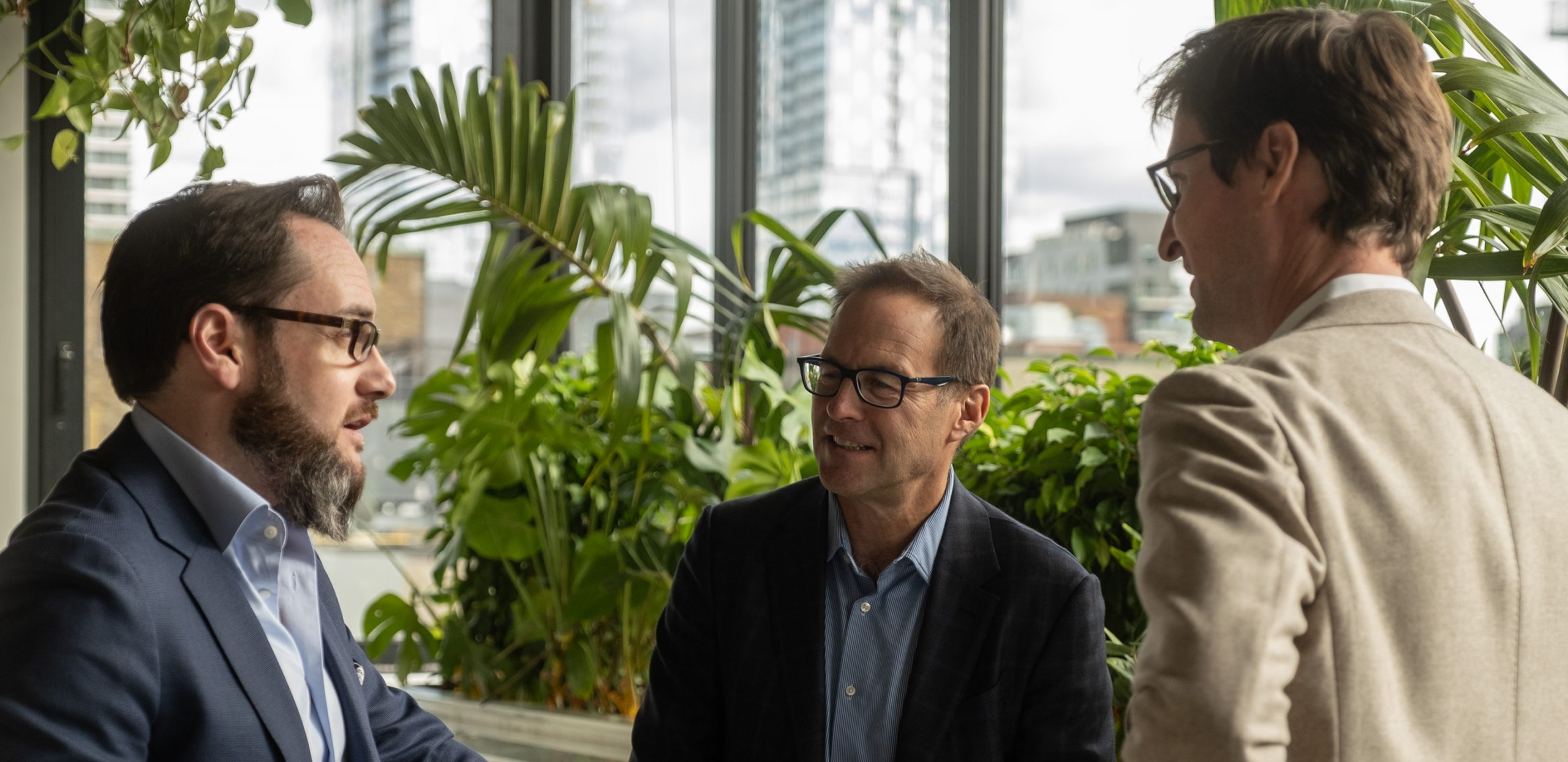 Michael Kaumeyer and Peter Mann, Co-Chief Executive Officers, Montreal, QC